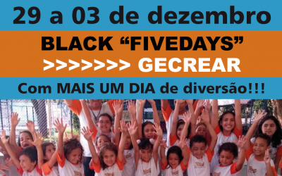 "Black ""Fivedays"" GECREAR"