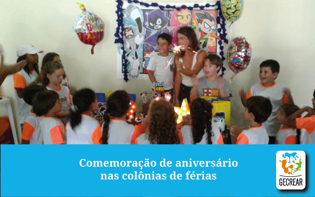 Aniversário na colônia